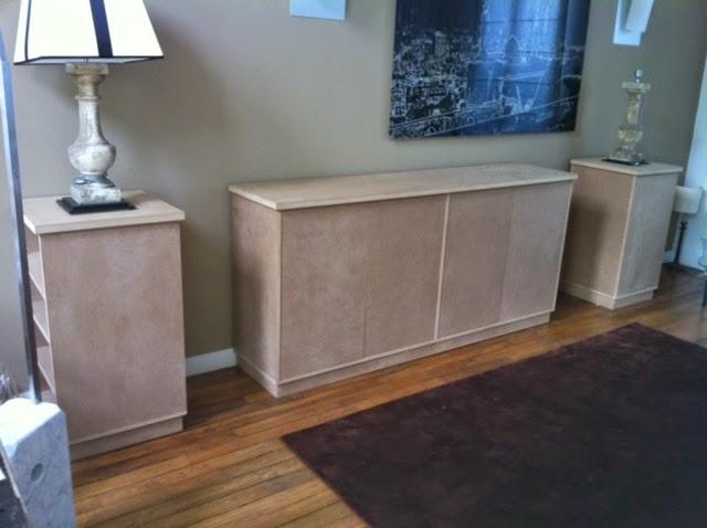 Essemble meubles bas sur mesure