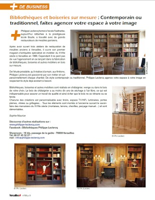 Article magasine Versailles+ mars 216