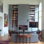 Bibliothèque contemporaine à Richaud