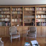 Bibliothèque style neo classique
