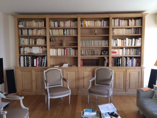 Realisation De Bibliotheques Et Meubles Sur Mesure A Paris