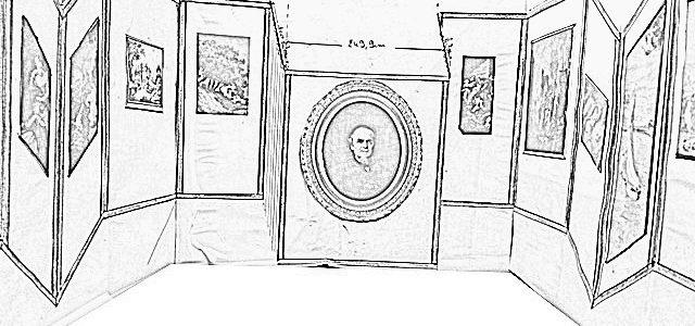 Décoration d'un stand pour la Biennale des Antiquaires 2016 au grand palais