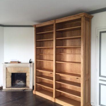 Bibliothèque bibus de salon