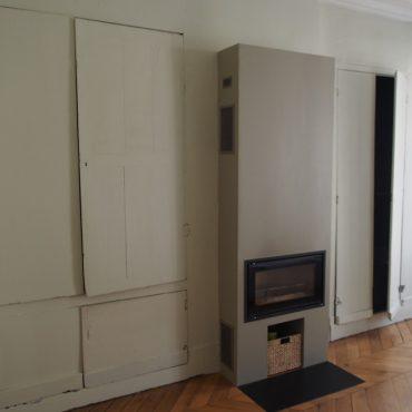 Montage façades portes