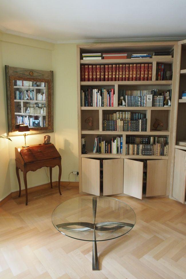 Biblioth ques contemporaines magasin de meubles sur mesure versailles - Magasin de meuble bibliotheque ...
