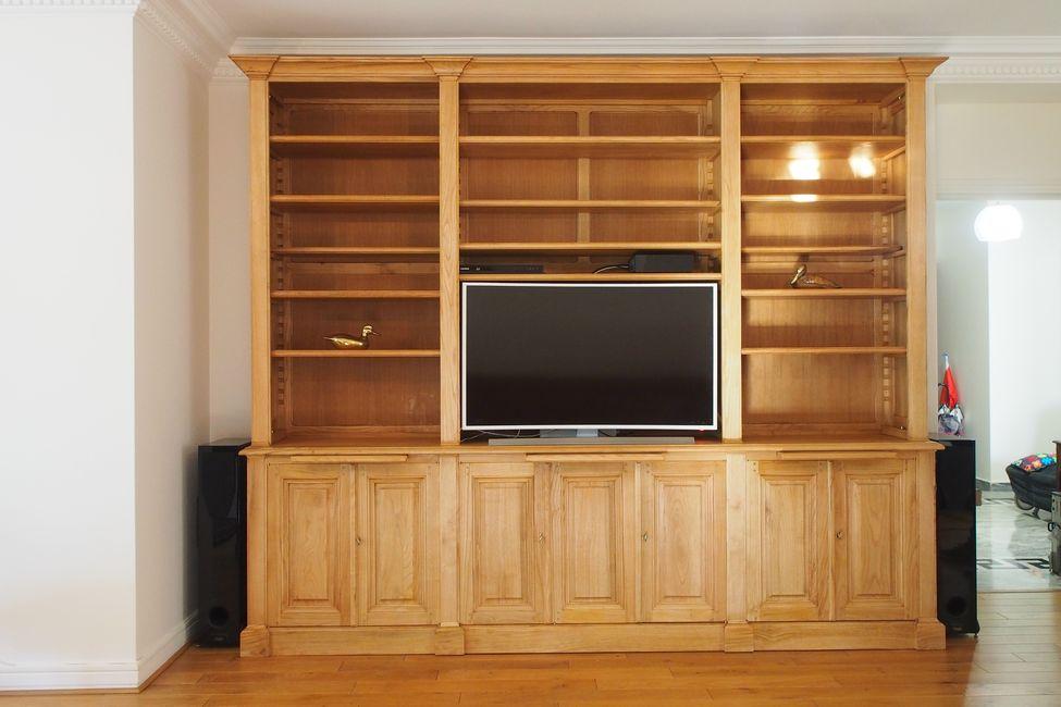 r alisation de biblioth ques et meubles sur mesure paris. Black Bedroom Furniture Sets. Home Design Ideas