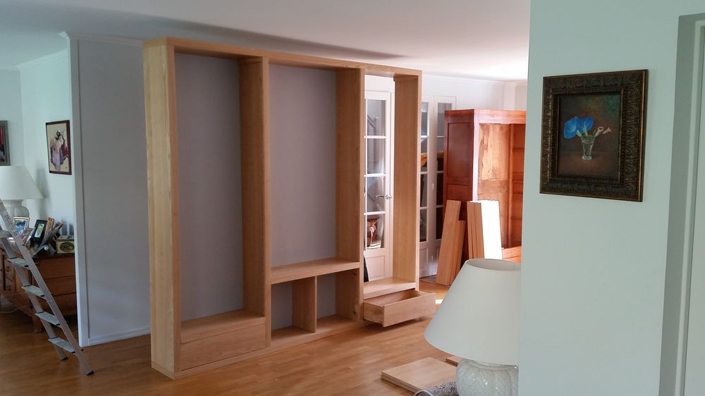 biblioth ques contemporaines magasin de meubles sur mesure. Black Bedroom Furniture Sets. Home Design Ideas