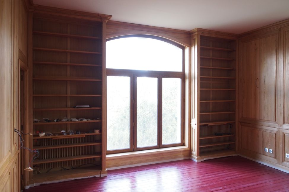 Des bibliothèques et boiseries sur-mesure
