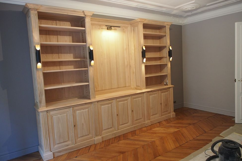 bibliotheque style neoclassique (13)