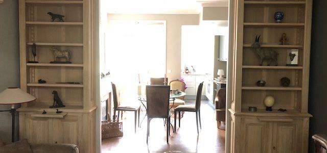 Paire de Bibliothèques pour un appartement de Neuilly sur Seine