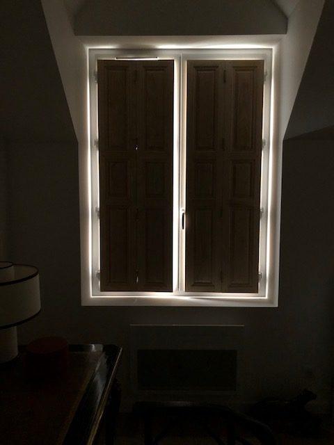 Volets d'intérieur pour une maison dans les Yvelines