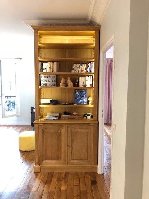 bibliotheque de couloir