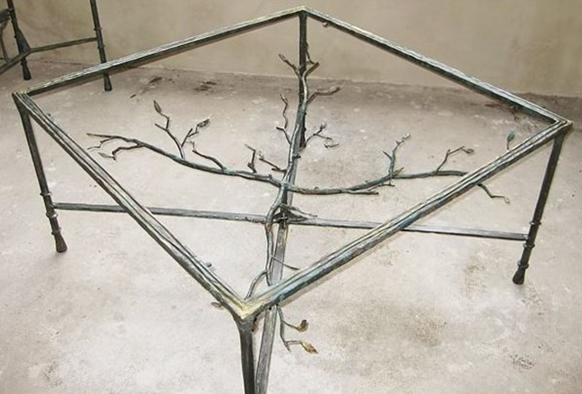 table-basse-branchage