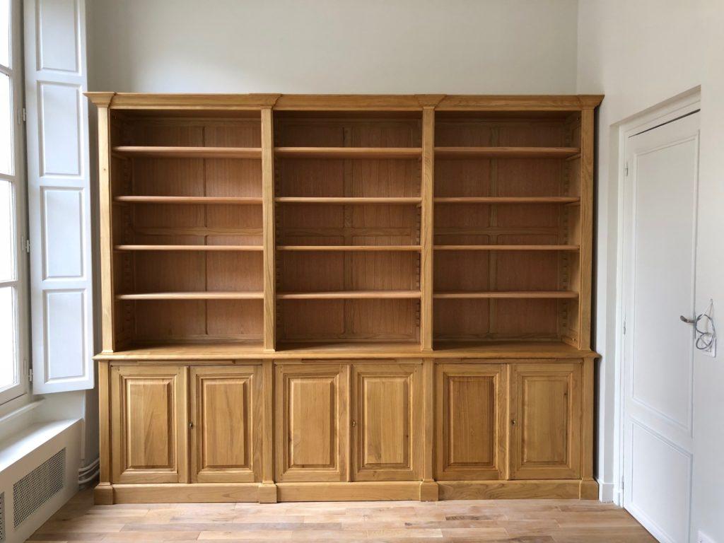 Echelle Bibliotheque Sur Rail réalisations de meubles et boiseries sur mesure par philippe
