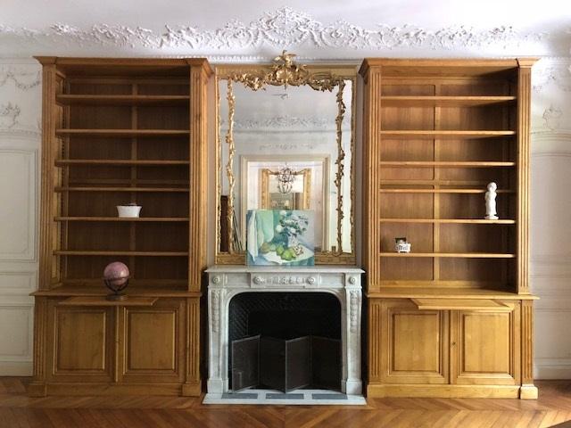 paire-bibliotheques-paris-cheminee