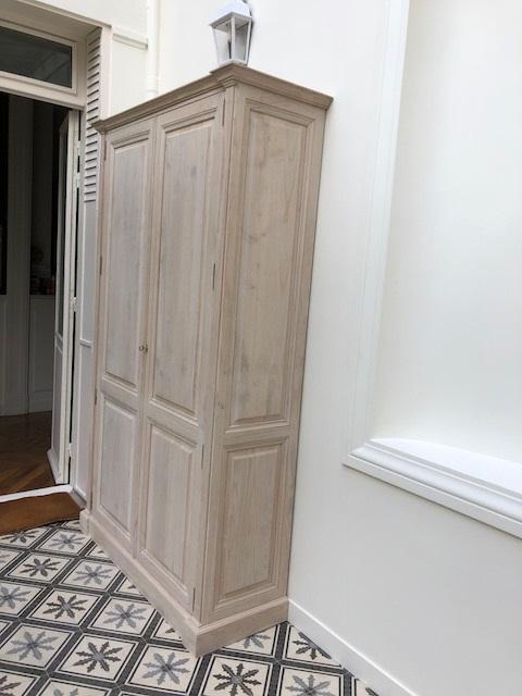 Paire de dressings pour un hall d'entrée dans très belle maison de Versailles