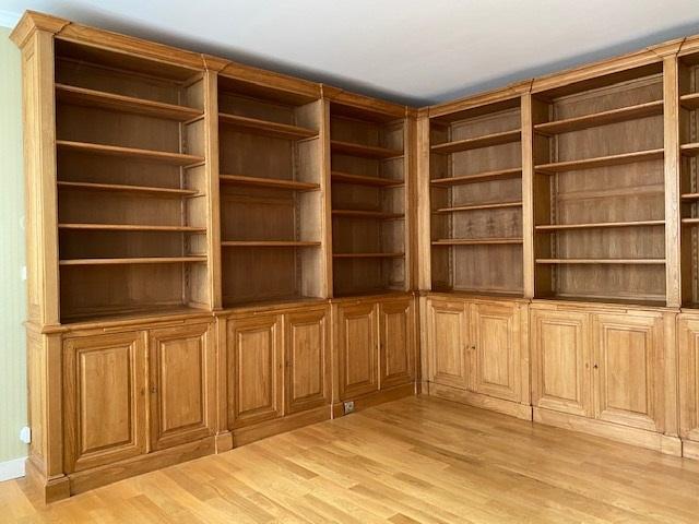 bibliotheque-parquet-angle-directoire